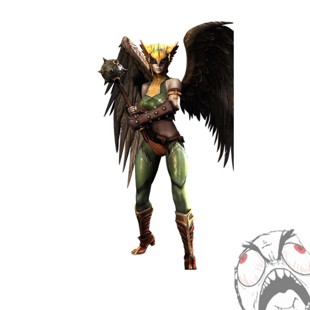 Hawk girl clipart