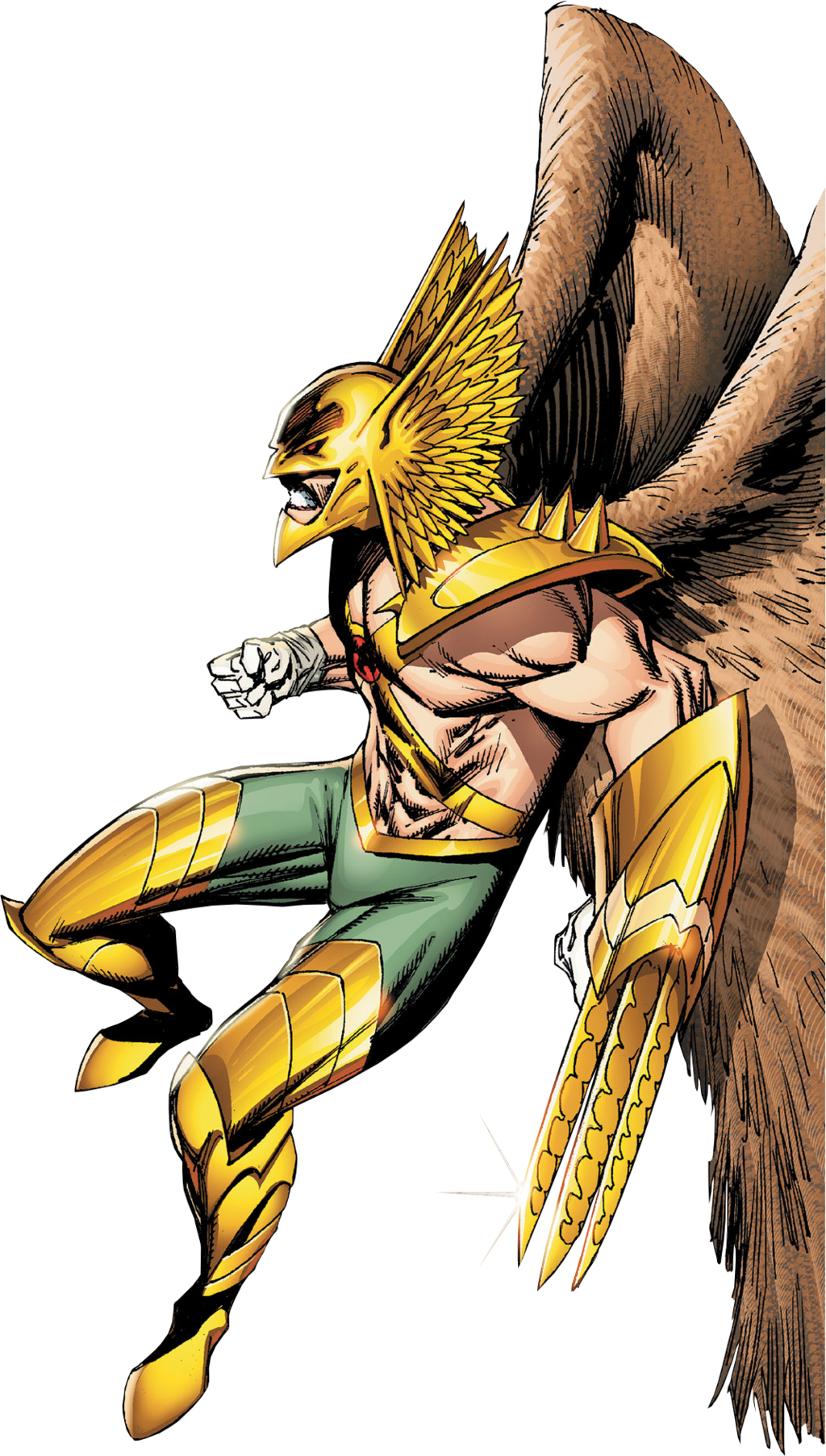 Hawkman Transparent Background