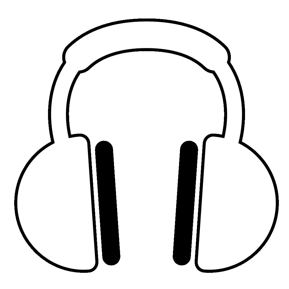 Headphone Art - Clipart library