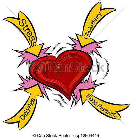 ... Heart Attack Causes - An image of a heart attack.