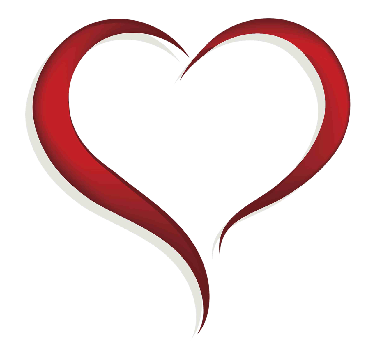 Free Heart Clip Art of Free heart clipart image for your personal projects,  presentations or web designs.