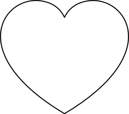 Free Vector Heart Clipart #1