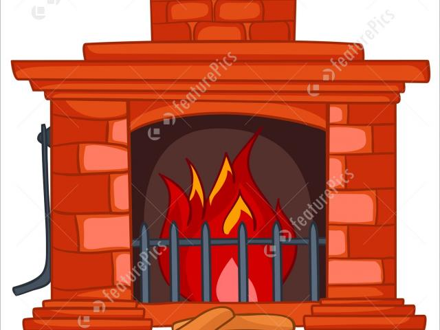 Hearthstone Clipart fireplace