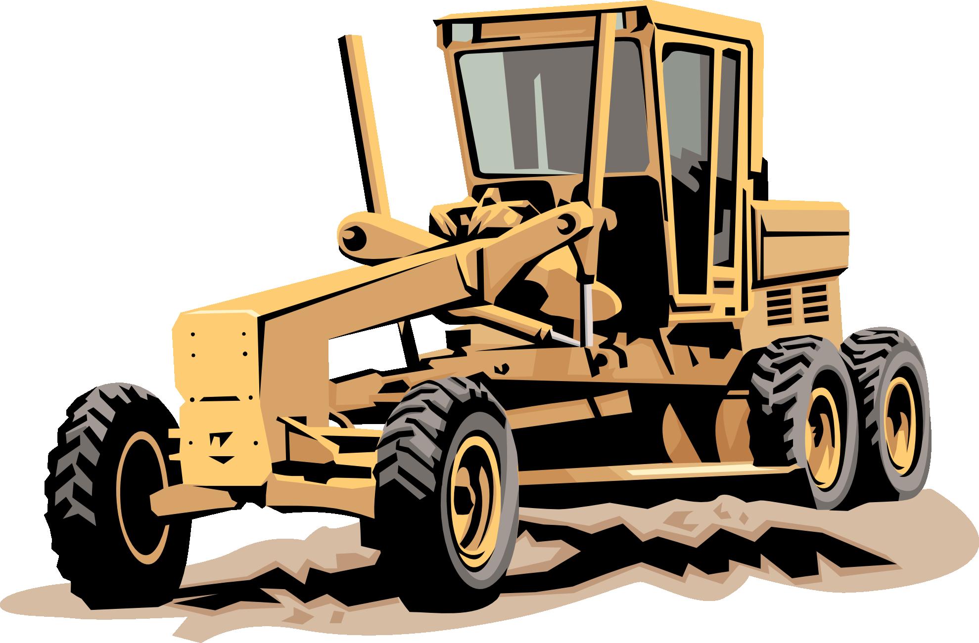 Heavy Equipment Clip Art - Clipart library
