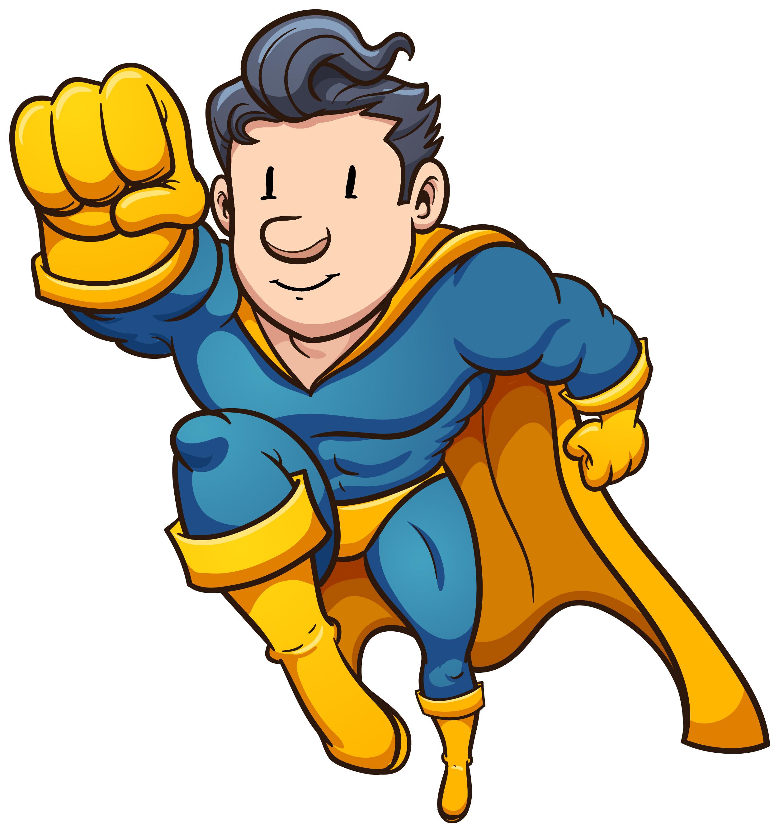 Hero Clipart