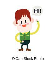 Kids say hi Clipart Vector Graphics. 56 Kids say hi EPS clip art.
