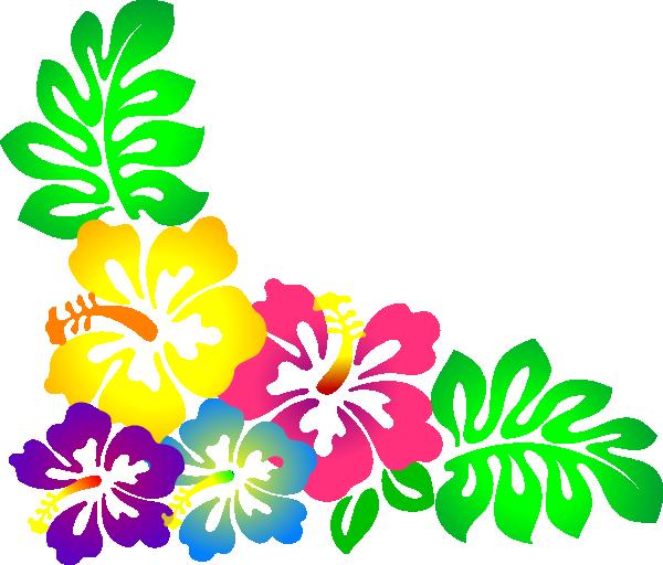 Hibiscus2 Clip Art At Clker Com Vector Clip Art Online Royalty Free