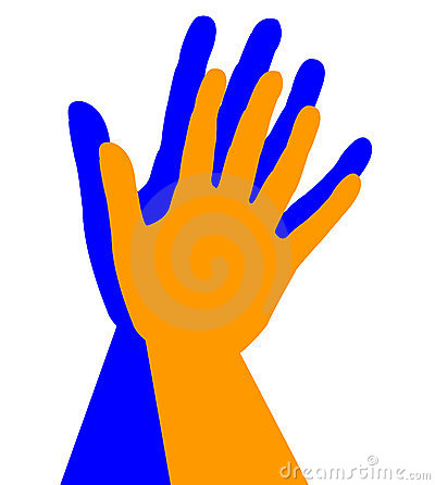 High Five Clipart We Won The Gym High Five