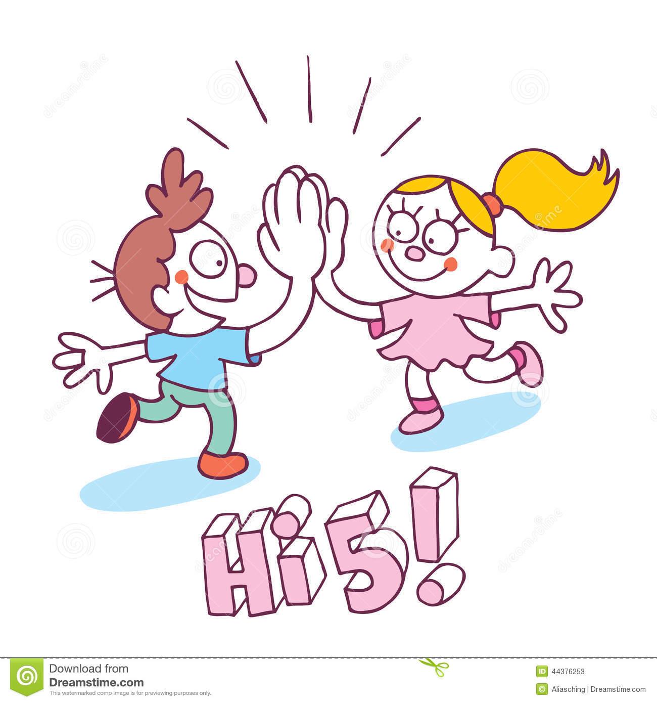 High Five Hand Clipart High Five Kids Stock Photos
