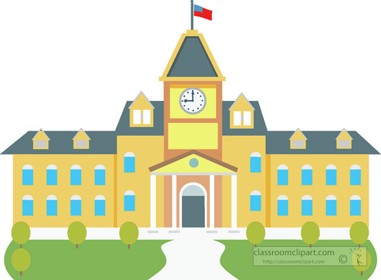 high school building. Size: 90 Kb From: School