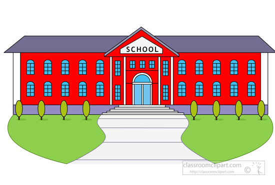 high school building. Size: 90 Kb