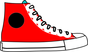 High top sneakers clip art - ClipartFest