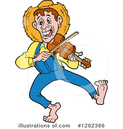 Hillbilly Clipart 1202366 By Lafftoon Royalty Free Rf Stock