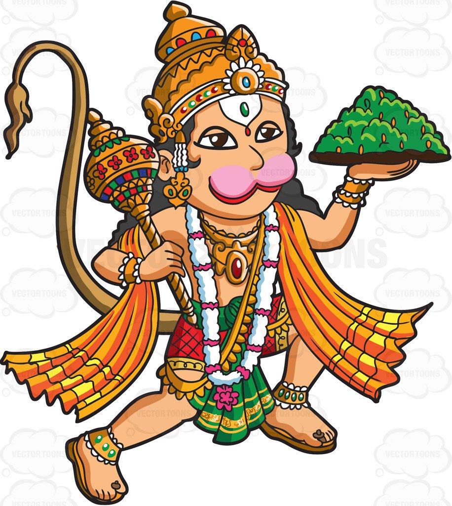 The Hindu God Hanuman