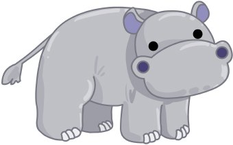 Download - Hippo Clipart