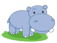 Free Hippo Clipart - Hippo Clipart
