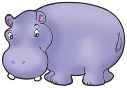 Hippo clipart hippopotamus clipart image