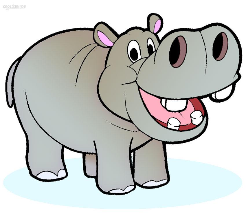 Hippopotamus Clipart 1