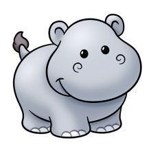 Hippopotamus Clipart 27