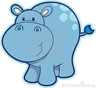 pin Hippo clipart baby hippo #4