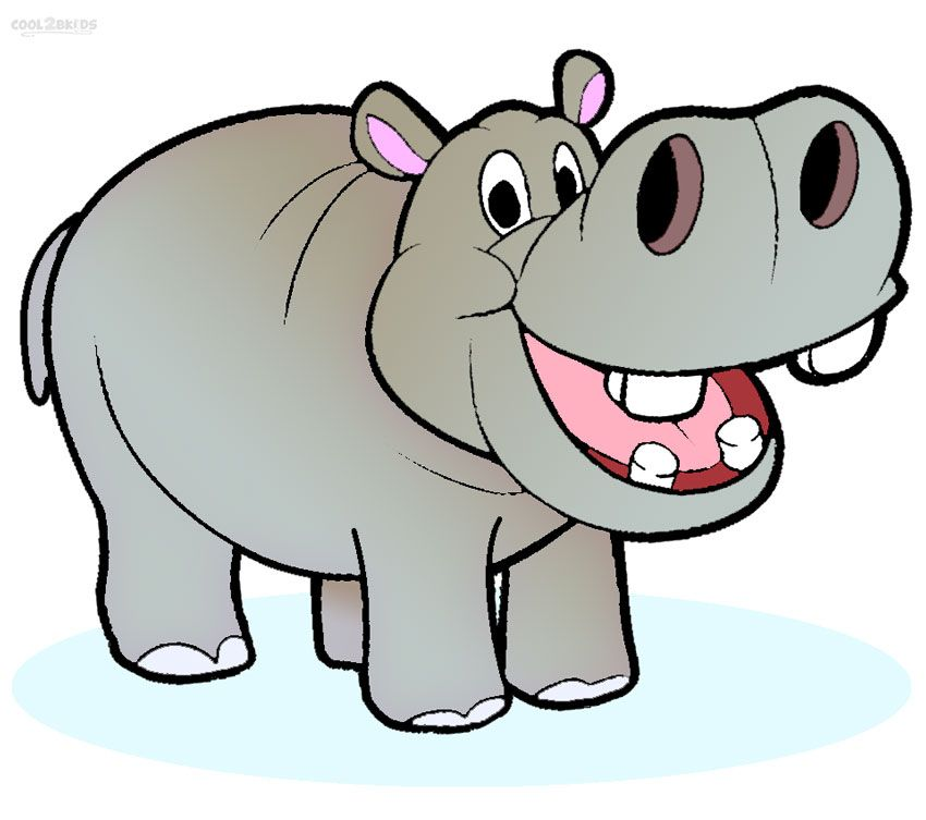Hippo or hippopotamus, a large herbivorous mammal of the Sub-Saharan  African region, are characterized by their huge body, thick legs and a big  mouth.