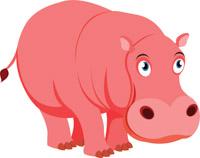 hippopotamus clipart. Size: 85 Kb