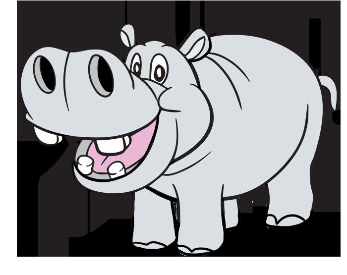 Hippopotamus Free Clipart #1