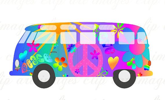 Hippy Vw Bus Clip Art. Pinterest | Buses, Hippie .