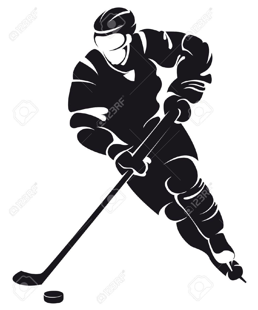 Hockey clipart vector free - ClipartFest