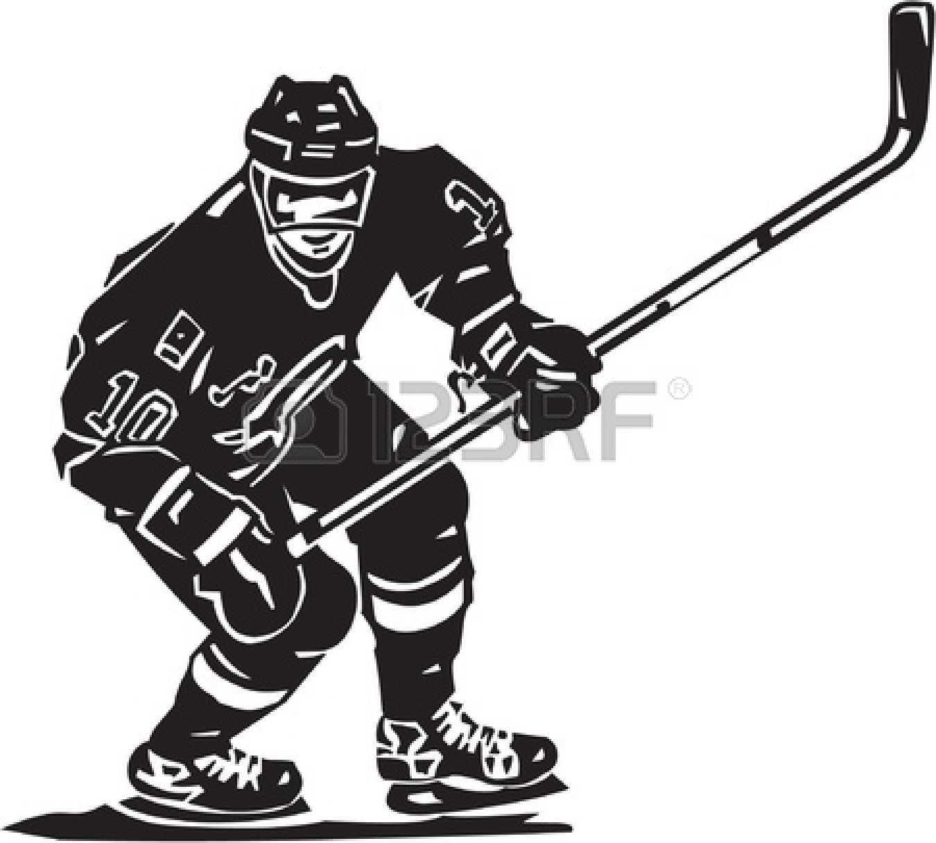 Hockey Stick Clipart Black And White Clipart Panda Free Clipart