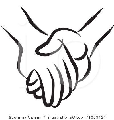 holding hands clip art .