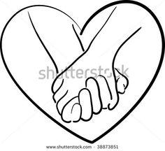holding hands clip art | holding hands
