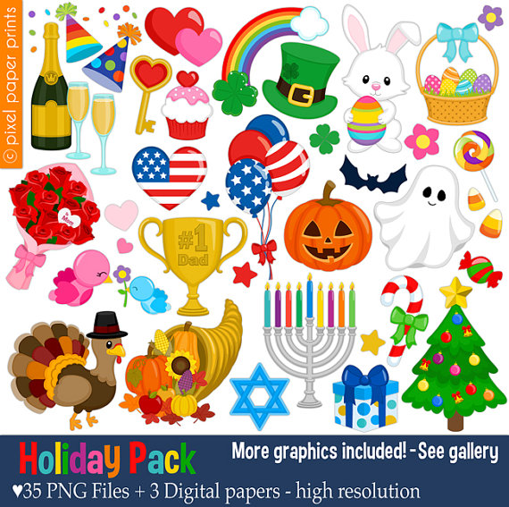 Holidays clipart 4 » Clipart - Holiday Clipart