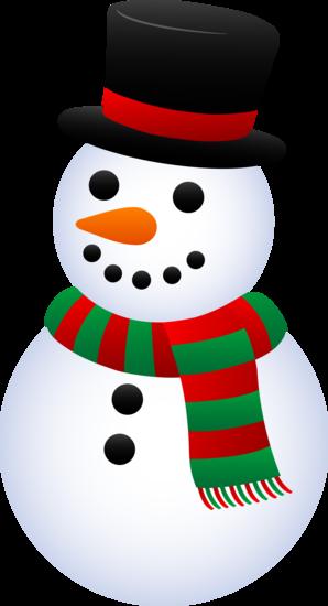 holiday snowman clip art