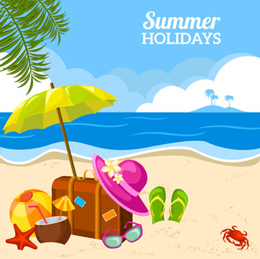 Summer holidays clip art summer clipart family holiday pencil and in color  summer clipart ideas