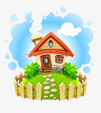 cute happy home, Cute Clipart, Home Clipart, Family PNG Image and Clipart