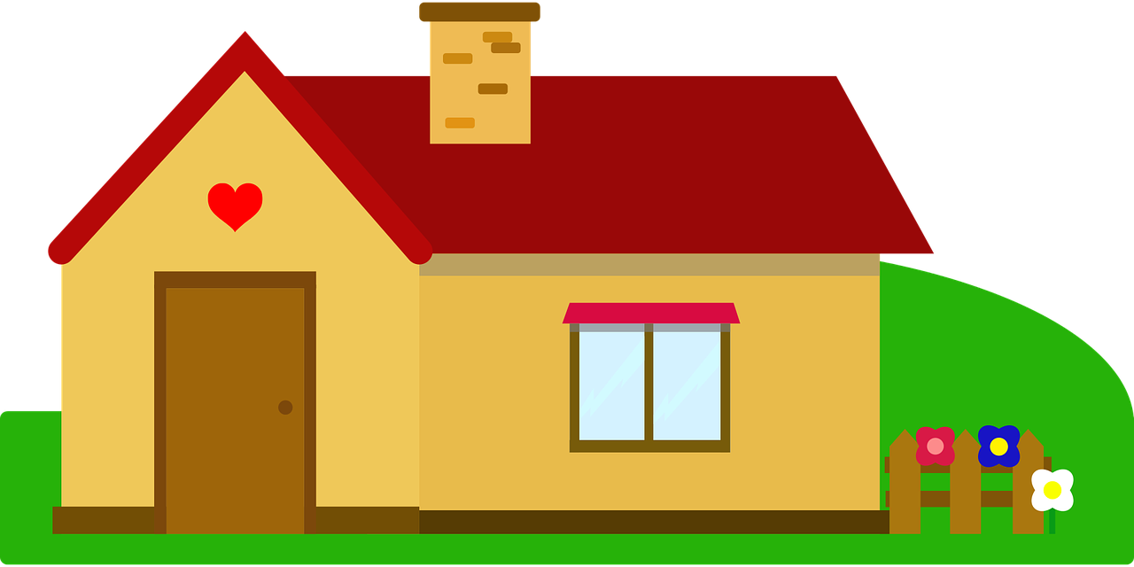 Free simple house clip art ClipartPost