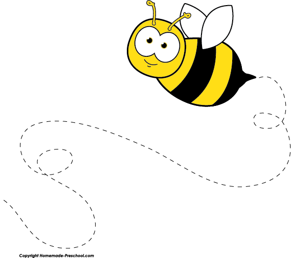 Home Free Clipart Bee Clipart .