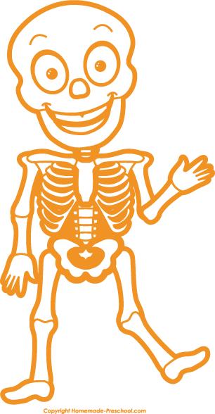 Home Free Clipart Halloween Clipart Halloween Skeleton