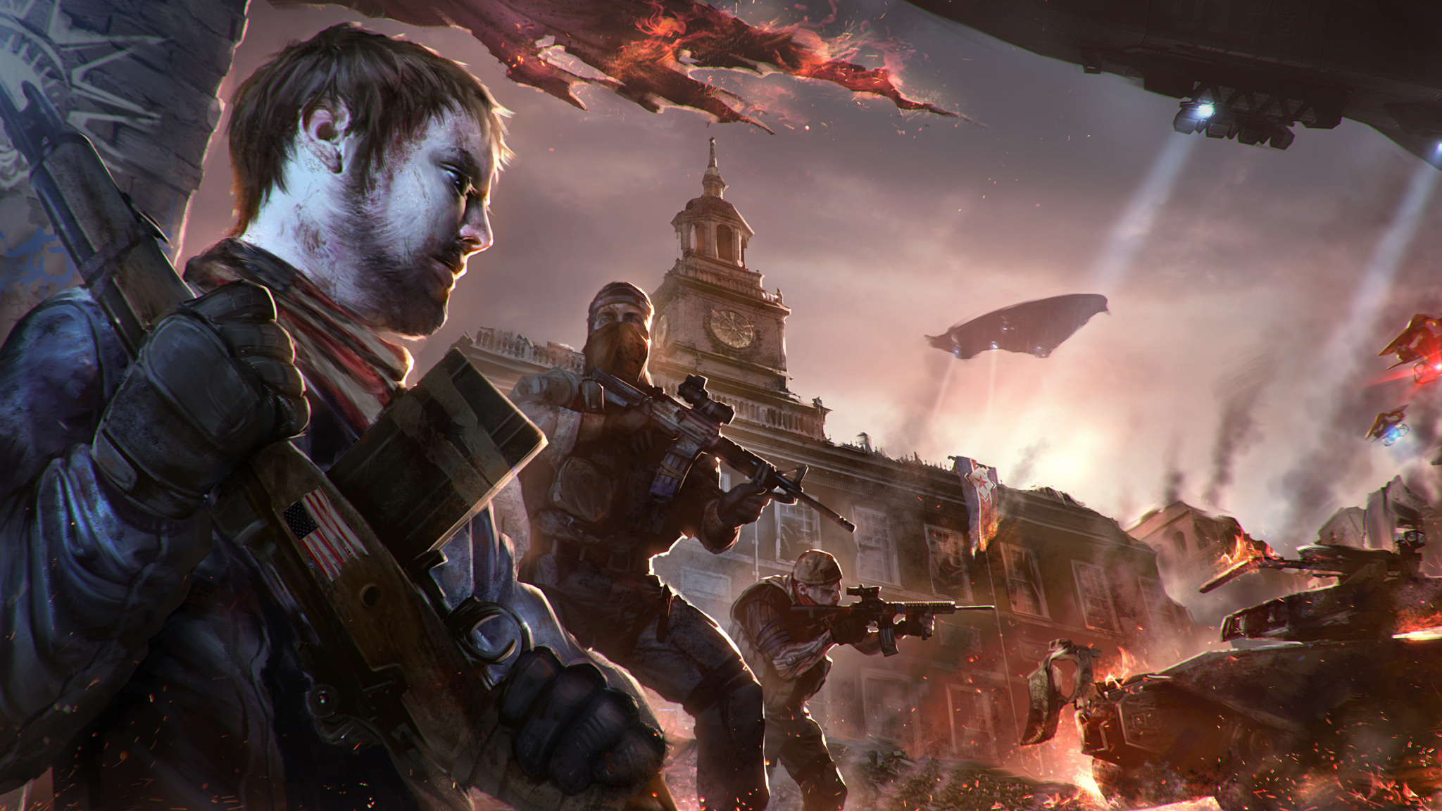 x wallpaper art homefront the revolution video game with homefront download.