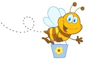Honey Bee Clip Art Images Honey Bee Stock Photos Clipart Honey Bee