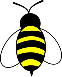 Honey Bee Drawing Clipart