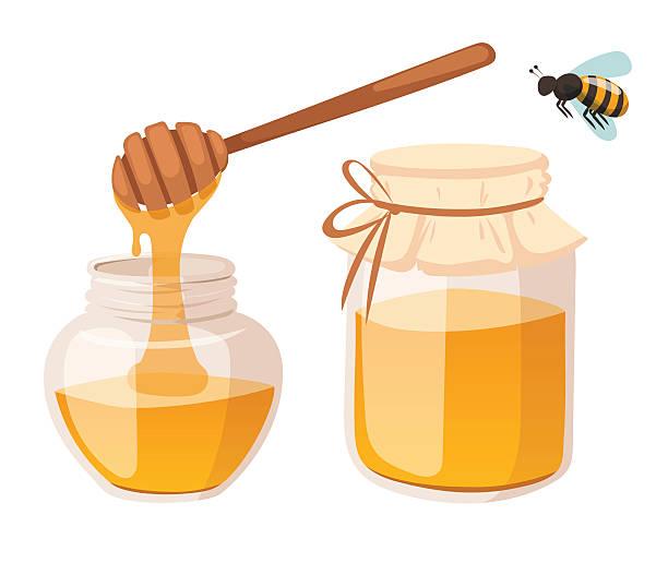 Honey bank vector illustrations vector art illustration