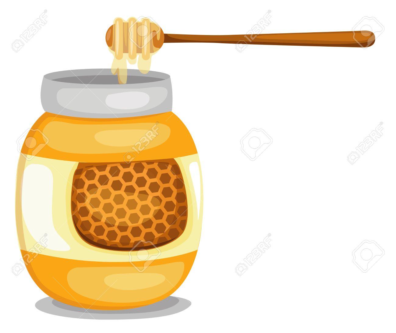 Honey clipart vector #8
