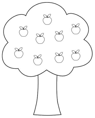 Honovylys Apple Tree Clipart