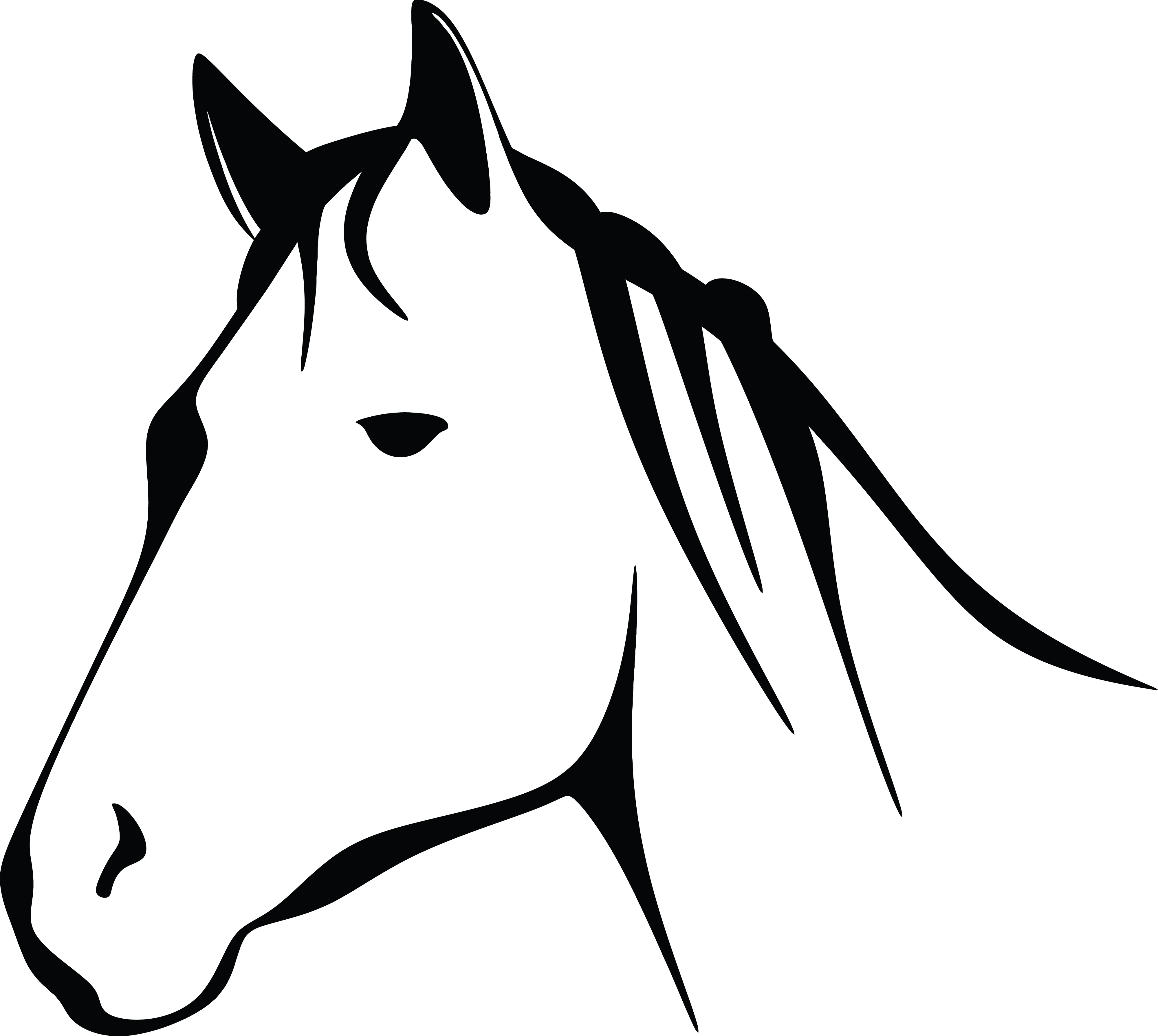 Horse Clipart-Clipartlook.com-4000
