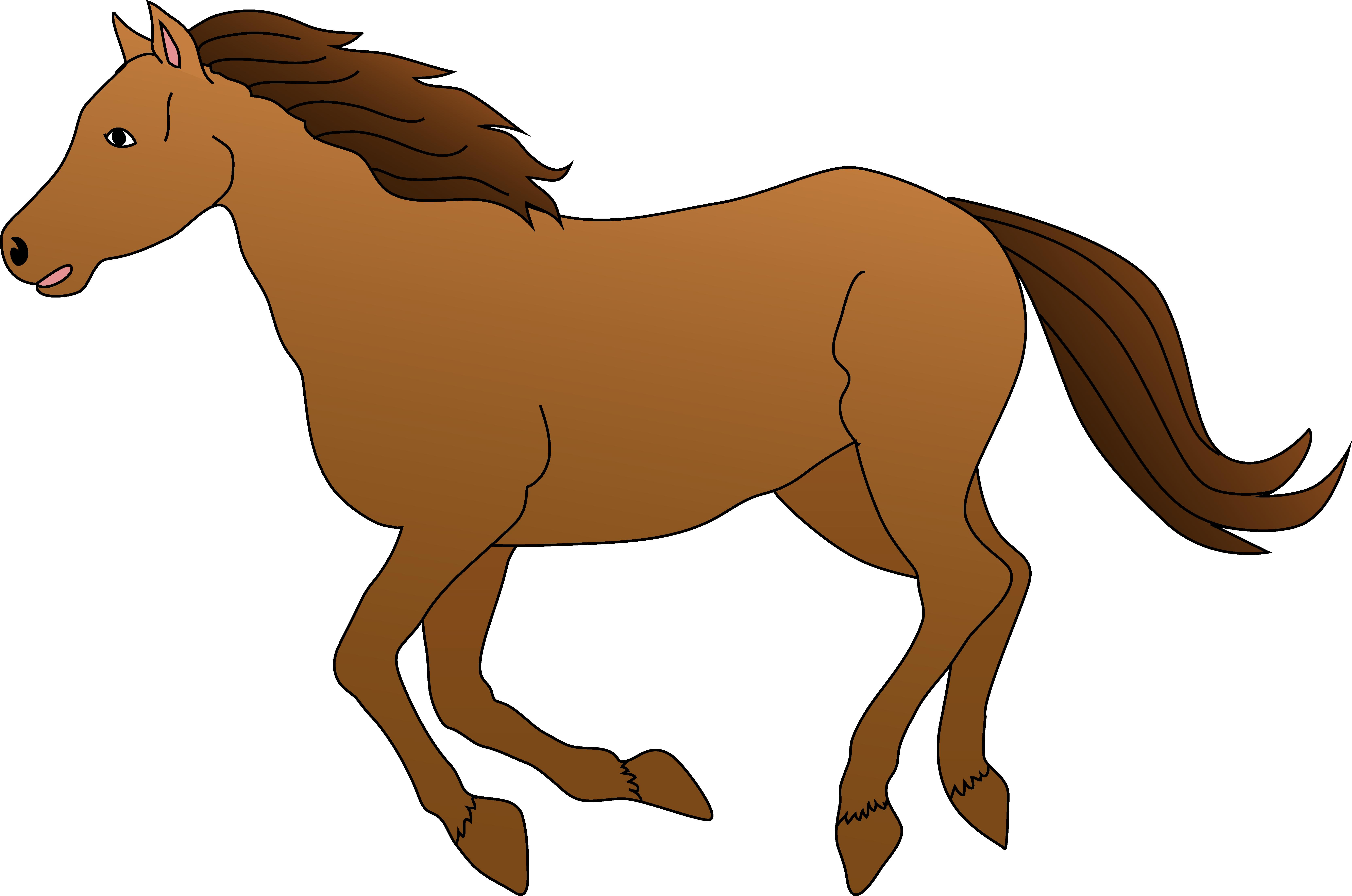 Horse clipart image horse clip art pictures 3