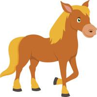horse clipart. Size: 88 Kb