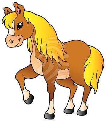 Pretty Horse Clipart #1