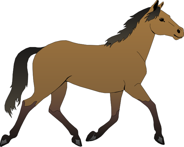 Cartoon Horse Free Clipart #1